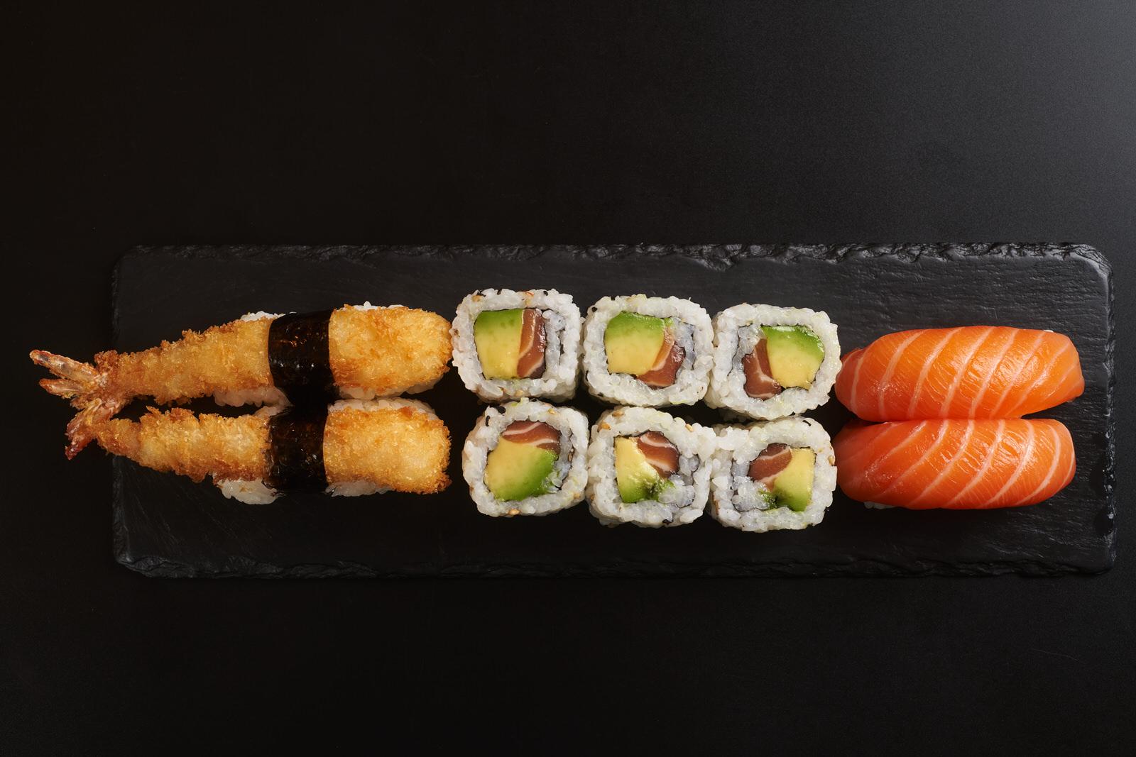 Sushi - Photo culinaire - Photographe culinaire - Bordeaux - Gironde - photographe professionnel