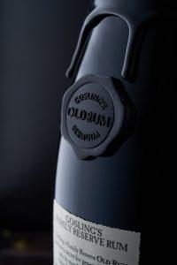 Rhum Gosling - Photo de détails - Vins et spiritueux - Thierry Pousset - Shooting photo - Photographe professionnel - Bordeaux - Gironde